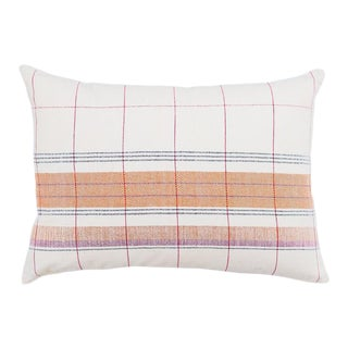 Razia Organic Handwoven Pillow with Insert For Sale