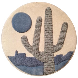 Saguaro Textile Wallhanging For Sale