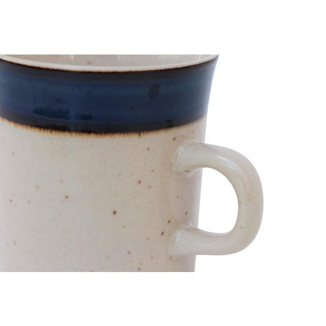 Rainbow Stoneware Sango Mariana Cups - Set of 4 For Sale - Image 4 of 6