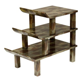 Truex Pagoda Side Table For Sale