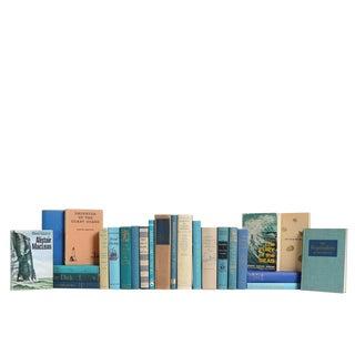 Midcentury Caribbean Ocean Nautical Book Set, S/25 For Sale