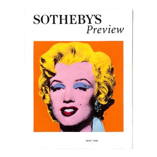 """Sotheby's Preview: May 1998"" Book For Sale"