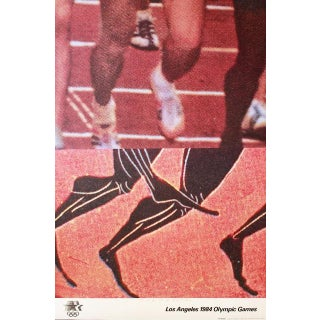 "John Baldessari ""Los Angeles 1984 Olympic Games"" Signed Limited Edition Poster, 1982 For Sale"