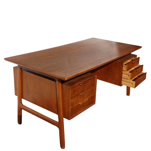 Mid 20th Century 20th Century Scandinavian Gunni Omann Writing Desk For Sale - Image 5 of 9