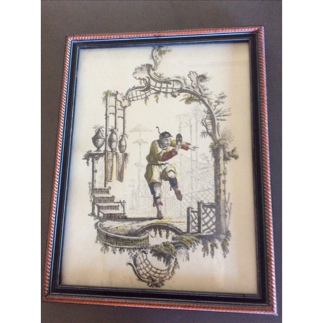 Vintage Borghese Chinese Print - Image 2 of 4