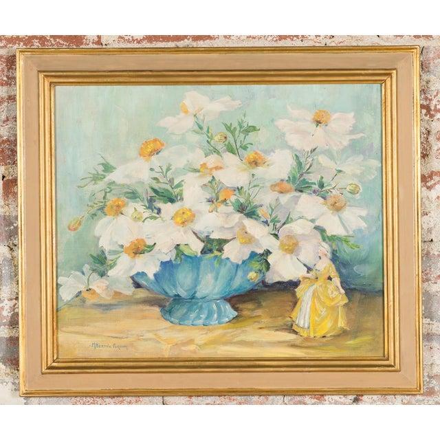 "Mary Purdum ""Big White Flowers"" Painting - Image 2 of 10"