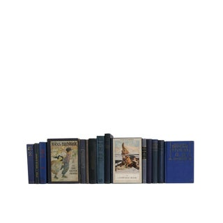 Children's Decorative Book Set in Navy
