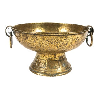 Late 19th Century English Brass Jardiniere For Sale