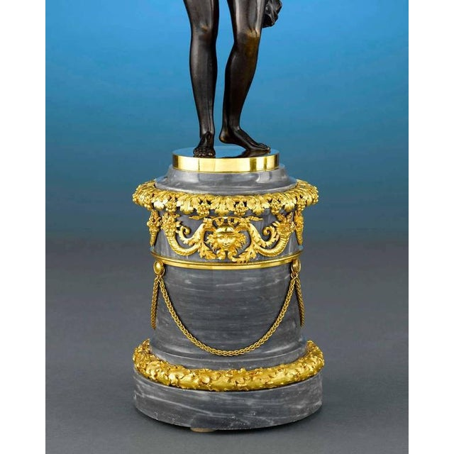 18th Century Russian Figural Bronze Candelabra - A Pair For Sale In New Orleans - Image 6 of 8