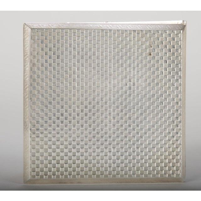 Silver Cigarette Box For Sale - Image 4 of 13