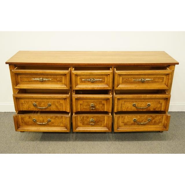"Late 20th Century 20th Century Italian Dixie Furniture 64"" Triple Dresser For Sale - Image 5 of 13"