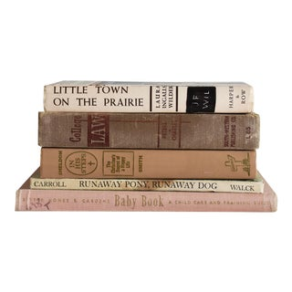 Pink Book - Set of 5 For Sale