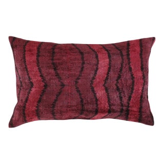 Turkish Silk Velvet Handmade Pillow #Ti 309 For Sale