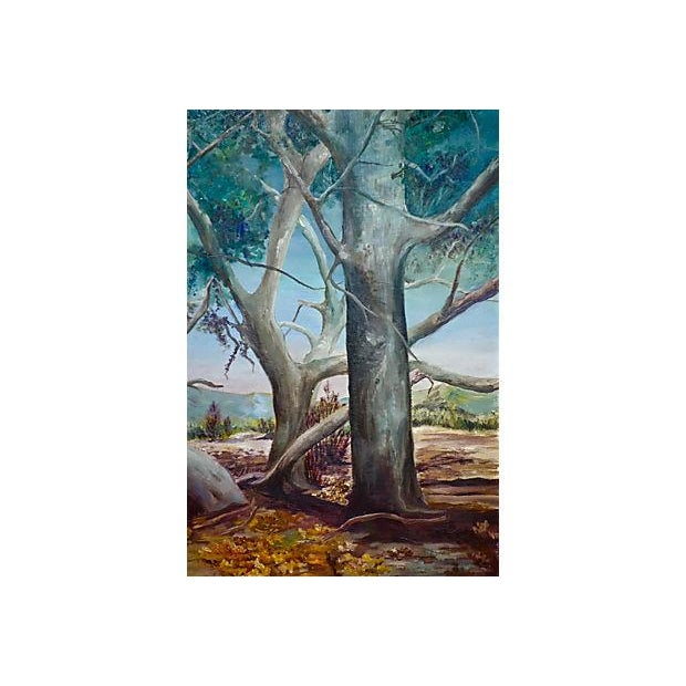 Study of Trees Painting - Image 3 of 6