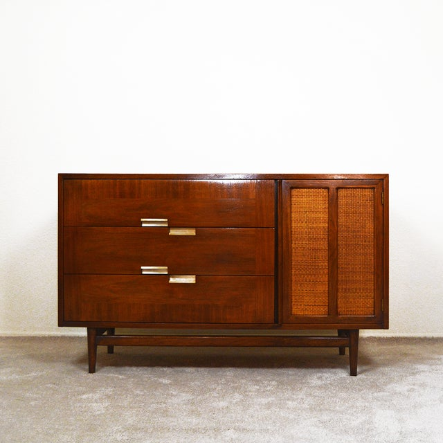 The beautiful mid century credenza / sideboard is warm, rich and inviting. And the size makes it a very versatile piece,...