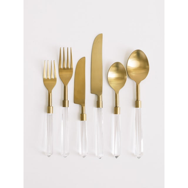 The PRISM Collection was designed to be sleek, contemporary, and geometric. With a slender handle and unique color...
