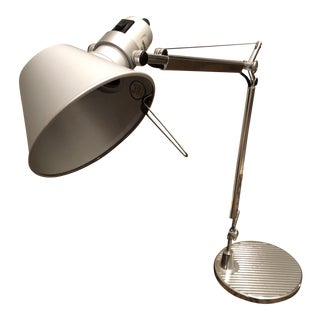 Industrial Metal Architects Desk Lamp For Sale