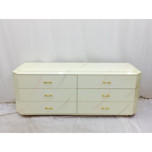 Contemporary Vintage Modern Dresser by Elkins For Sale - Image 3 of 11
