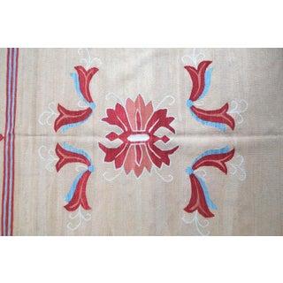 1950s, Handmade Vintage Romanian Bessarabian Kilim 5.9' X 9.6' Preview