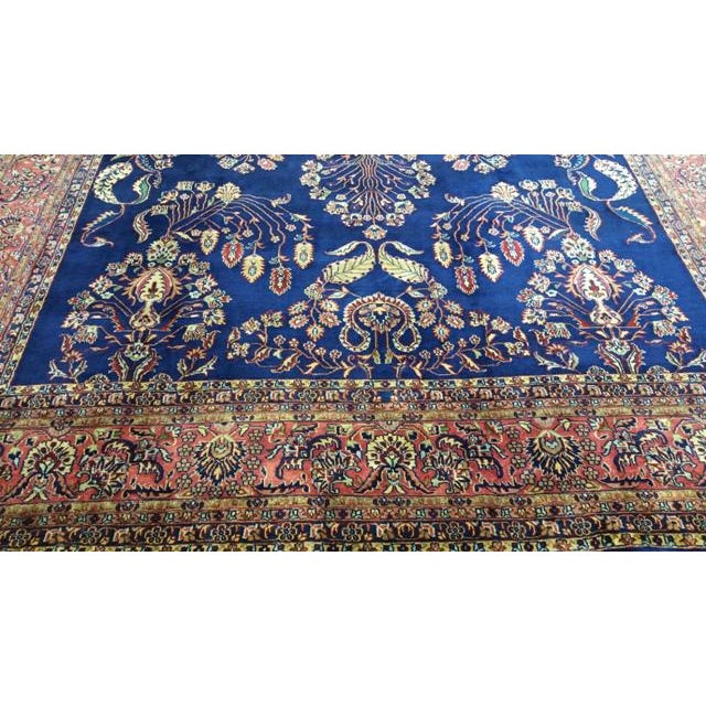 Traditional Traditional Wool Handmade Rug For Sale - Image 3 of 7