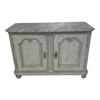 Late 19th Century Antique Painted Buffet For Sale