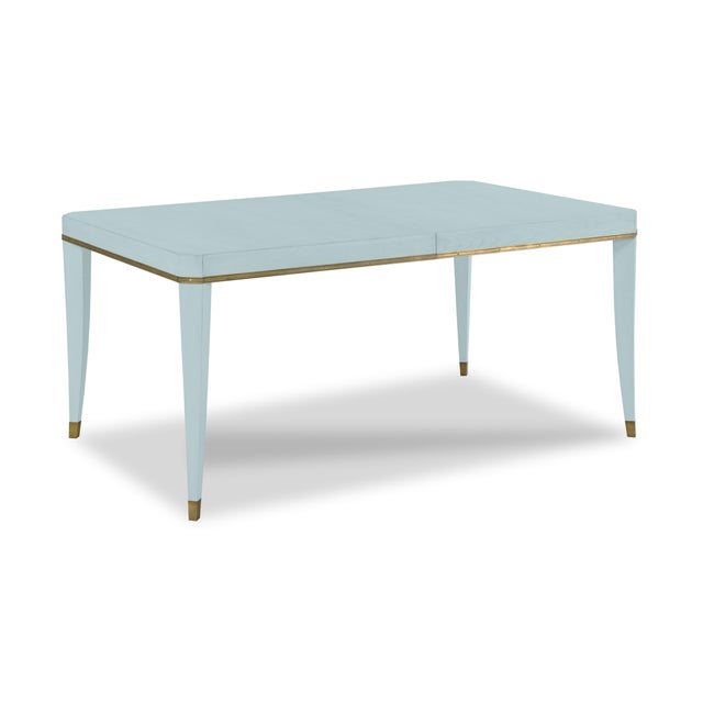 Modern Sutton Dining Table, Smole For Sale - Image 3 of 4