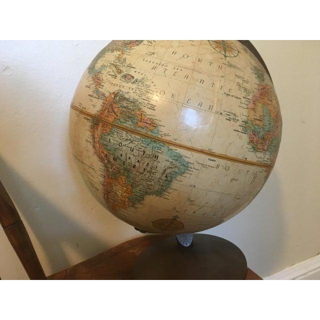 "Replogle Globes Vintage 1990 Replogle World Classic Series 12"" Diameter Globe For Sale - Image 4 of 13"