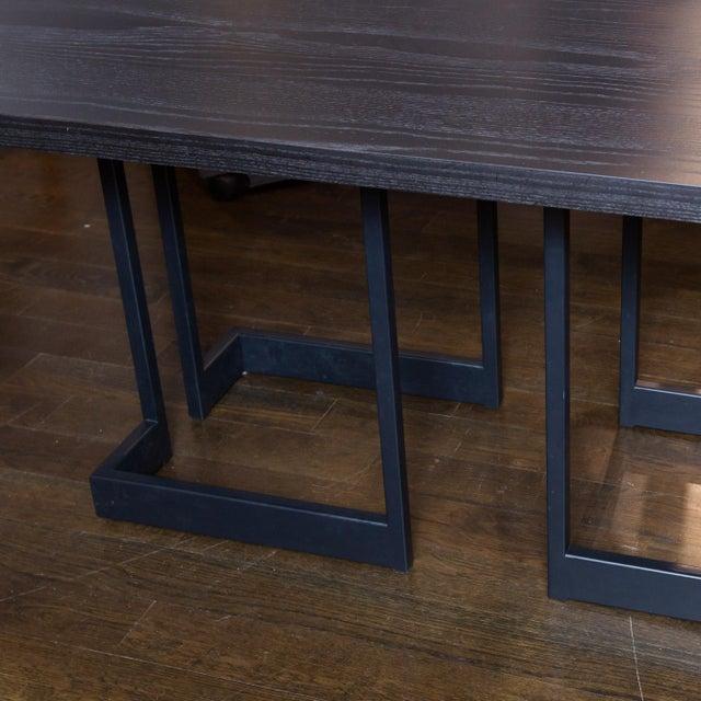 Skram Ebonized Ash Extension Table - Image 3 of 5