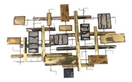 Image of Goldenrod Sculptural Wall Objects