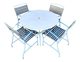 Image of Vinyl Outdoor Dining Sets