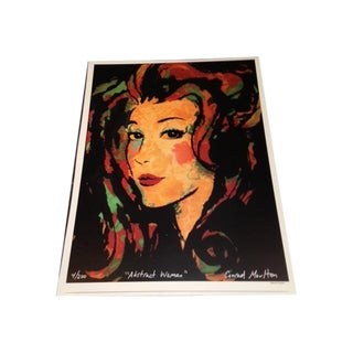 Abstract Woman Print For Sale