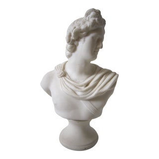 1920s Parian Bust of Man For Sale