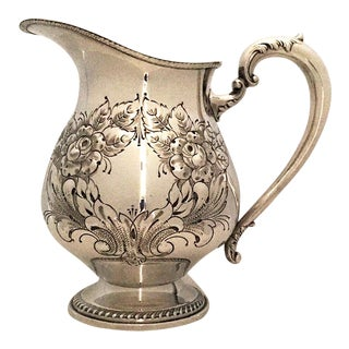 20th Century Traditional Frank Whiting & Co Sterling Pitcher For Sale