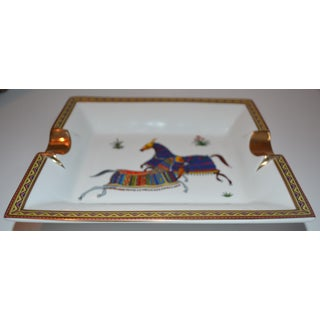 (Thanksgiving Final) Vintage Hermes Cheval d'Orient Cigar Tray Preview
