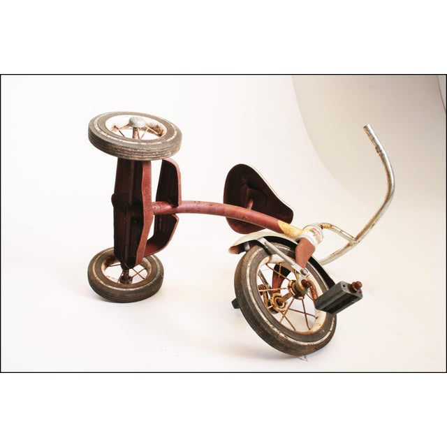 Vintage Rustic Metal Child's Tricycle - Image 11 of 11