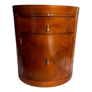 1990s Michael Vanderbyl for Baker Mahogany Accent Table For Sale