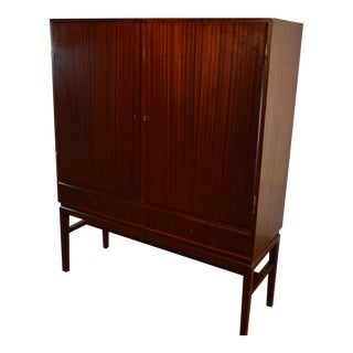 Ole Wanscher Danish High Mahogany Sideboard For Sale