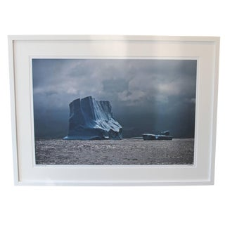 "John Conn ""Antarctica #119"" Blue Iceberg Limited Edition Photograph For Sale"