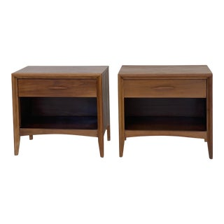 Sculptural Nightstands - A Pair For Sale