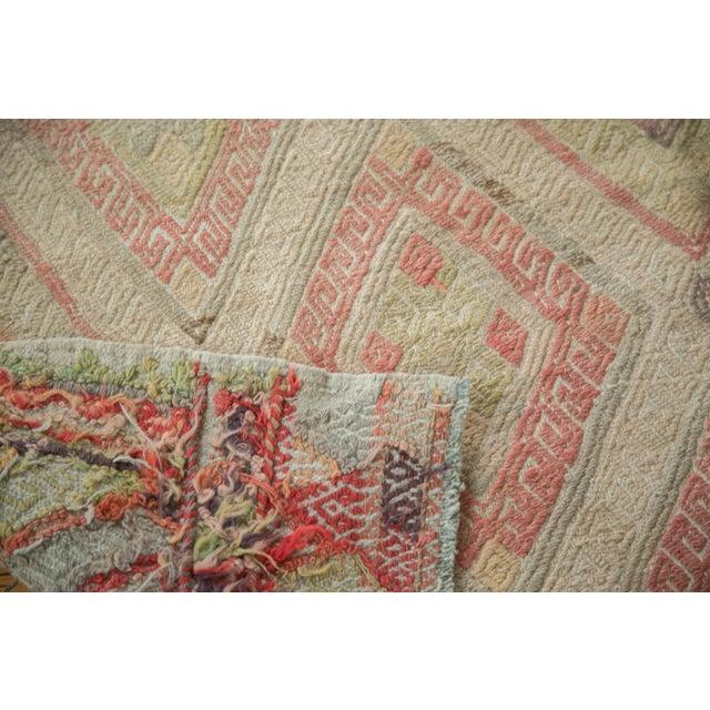 Textile Vintage 1980s Turkish Jijim Rug - 4′7″ × 7′3″ For Sale - Image 7 of 7