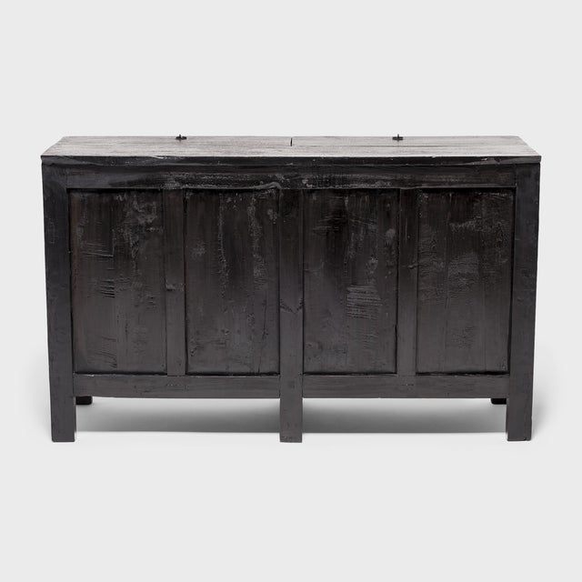 Chinese Four Seasons Painted Coffer For Sale - Image 4 of 13