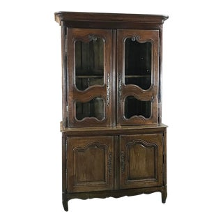 18th Century Country French Bookcase ~ Buffet a Deux Corps