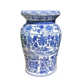 Image of Blue Garden Stools