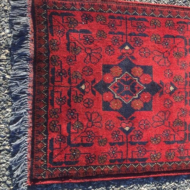 Turkaman Persian Rug - 1′10″ × 3′7″ - Image 3 of 9