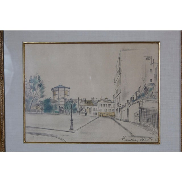 Impressionism Maurice Utrillo La Place Ravignan For Sale - Image 3 of 9