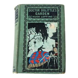 """1927 """"Doctor Doolittle's Garden"""" Children's Book For Sale"""