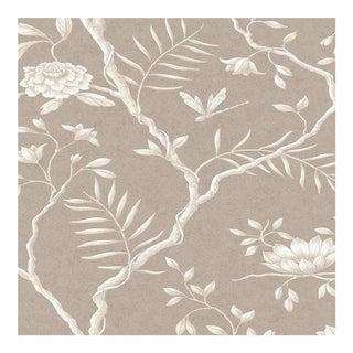 Lewis & Wood Jasper Peony Casement Botanic Style Wallpaper Sample For Sale