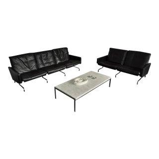 Sofa Set by Poul Kjaerholm for E. Kold Christensen, Denmark 1958
