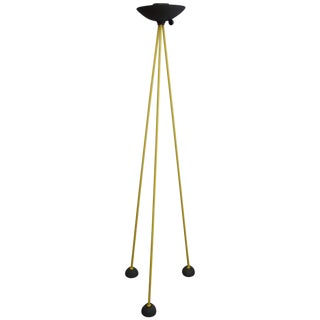 """Tripod Floor Lamp, """"Memphis"""" Style by Koch & Lowy, Called Footsteps, circa 1990s"""