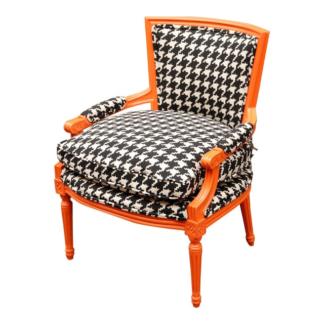 1940s Traditional French Lounge Chair For Sale